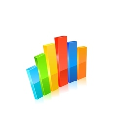 Stats icon vector image vector image