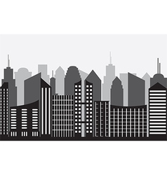 City panorama vector image
