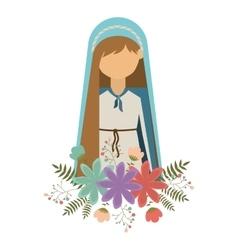 virgin mary design vector image