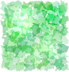 Abstract green backgrouns with French departments vector image
