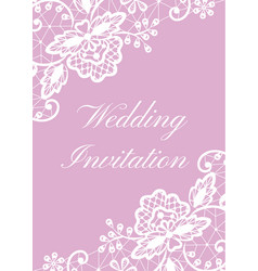 wedding cards set vector image vector image