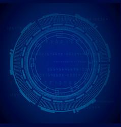 blue background design vector image