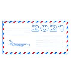 Envelope 2021 vector