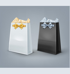 Gift bags vector