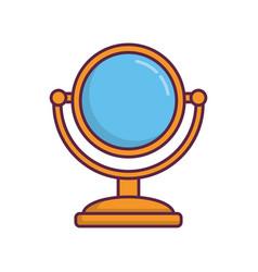 Mirror icon image vector