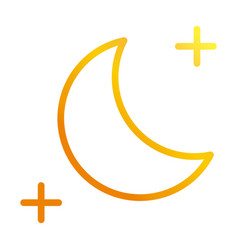 Moon star ramadan arabic islamic celebration vector