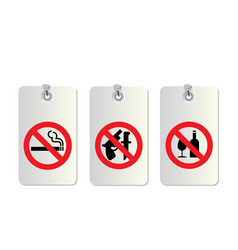 no allowed symbols vector image