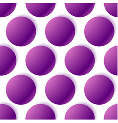 pattern with glowing circles dotted pattern vector image