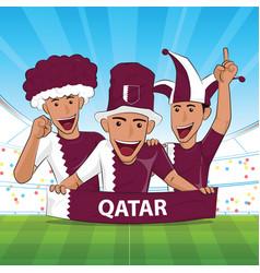 Qatar football support vector