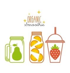 smoothies juice design vector image