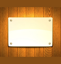 tablet on a wall vector image