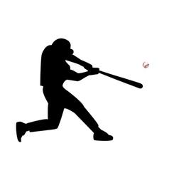 ballplayer vector image