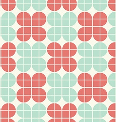 Geometric vintage seamless pattern vector image vector image