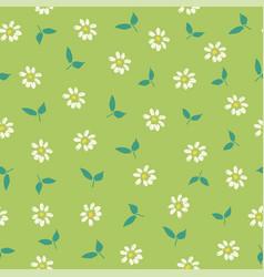 seamless vintage floral background vector image