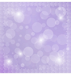 violet background with puzzle vector image