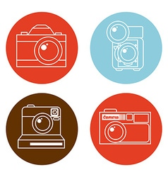 pothographic icon vector image