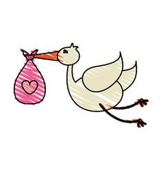 bird toy vector image vector image