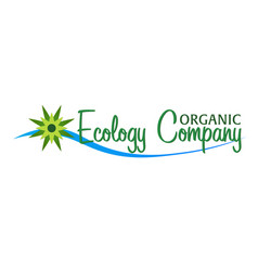 organic food restaurants and organic products vector image