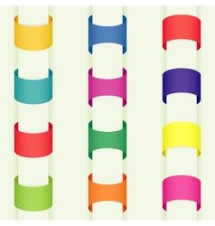 sticker element vector image vector image