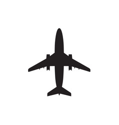 airplane - icon aircraft vector image
