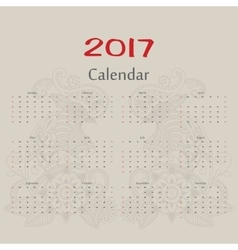 Calendar Two roosters usa format vector