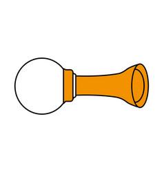 horn or klaxon icon image vector image