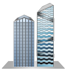 Building model sample new design vector image