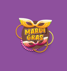 New orleans mardi gras background vector
