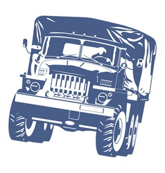 Off highway truck vector