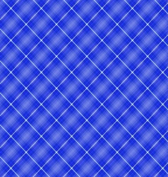 Seamless cross blue shading diagonal pattern vector image