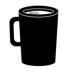 Coffee cup drink icon vector