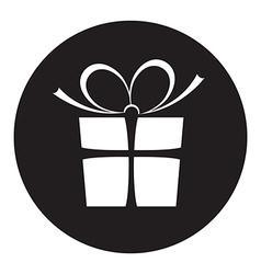 Black present vector