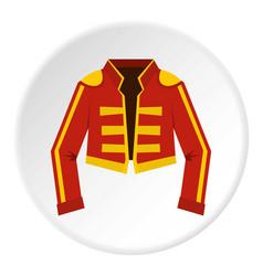 Costume toreador icon circle vector