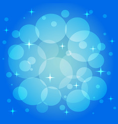 Festive pattern in blue color vector