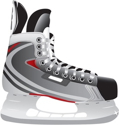 Ice hockey skate vector