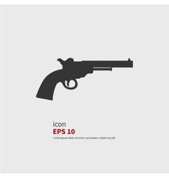Revolvers icon vector