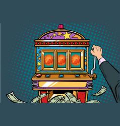 science mars exploration prize slot machine vector image