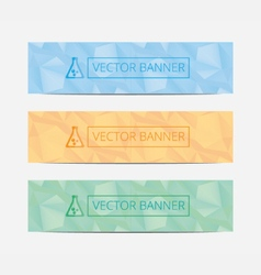 Set Of Modern Business Design Banner Template mock vector image