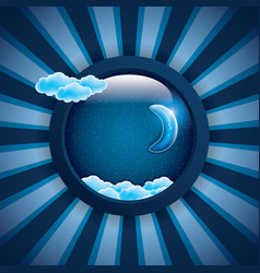 sweet dreams frame vector image