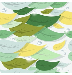 Colorful tree leaves vector image