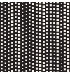 Seamless Diagonal Black and White Halftone vector image