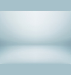 Abstract pale blue cold gradient background empty vector