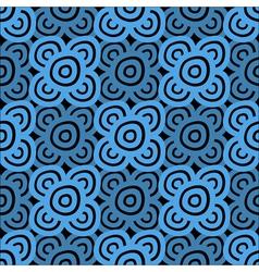 Background dark blue and black vector