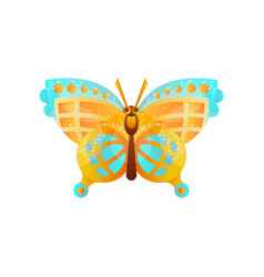 beautiful butterfly insect on vector image