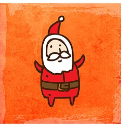 Father Christmas Cartoon vector