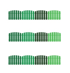 Hedge green color vector