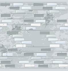 Old light brick wall texture seamless flat vector