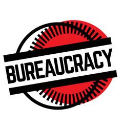 Print bureaucracy stamp on white vector