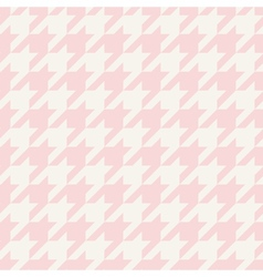 Tile houndstooth pattern or plaid background vector image