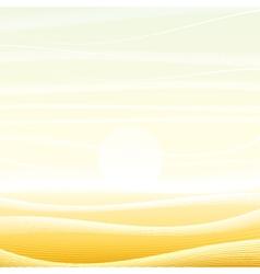 Desert Picture vector image vector image